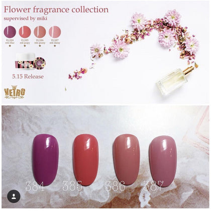 Flower Fragrance collection no.19 vetro gel pod