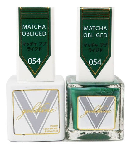 [GL054] Matcha Obliged [Gold Line DUO]