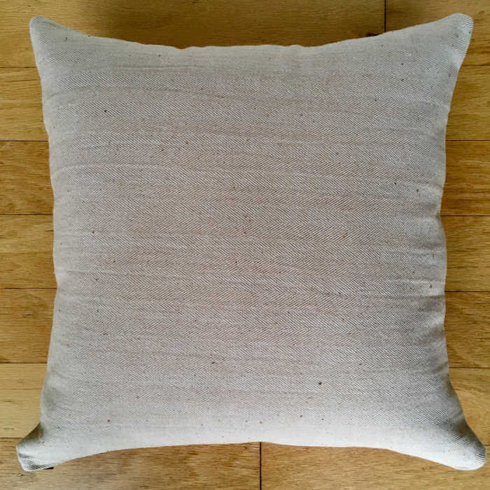 Made By Marisa. Organic cotton pillow.