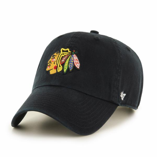 Chicago Blackhawks Black CLEAN UP