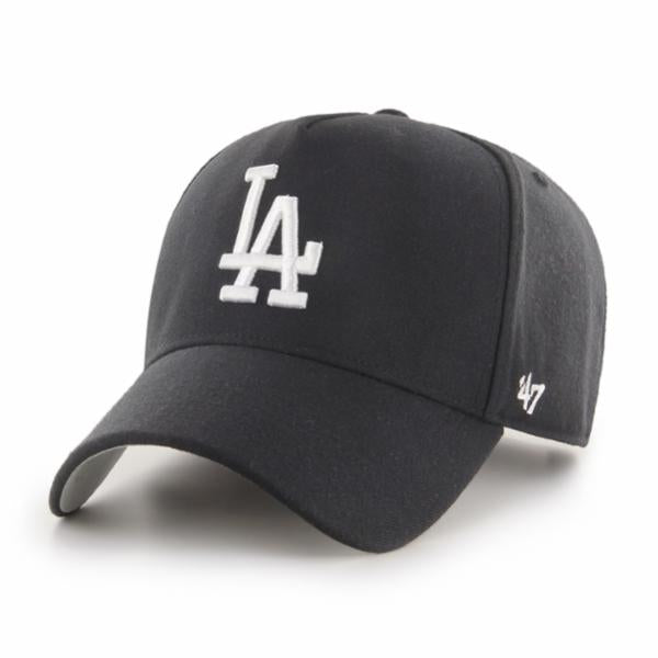Los Angeles Dodgers Black/White MVP DT Snapback