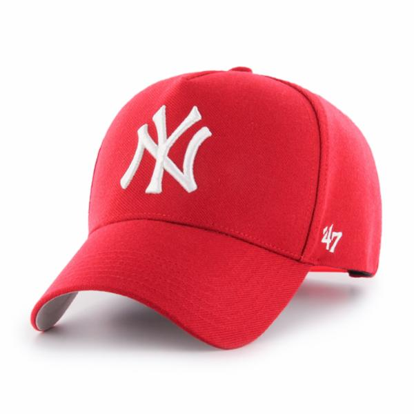 NY Yankees Red MVP DT Snapback