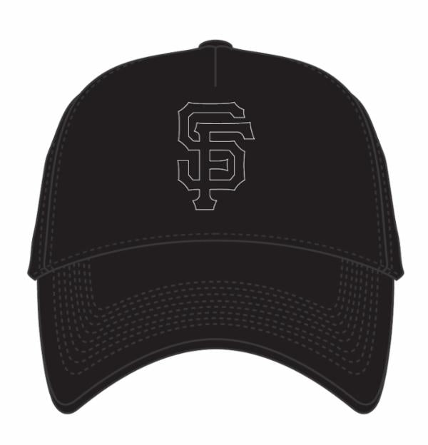 San Francisco Giants Black/Black MVP DT Snapback