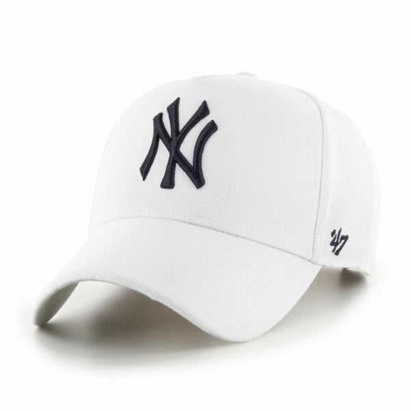New York Yankees White MVP DT Snapback