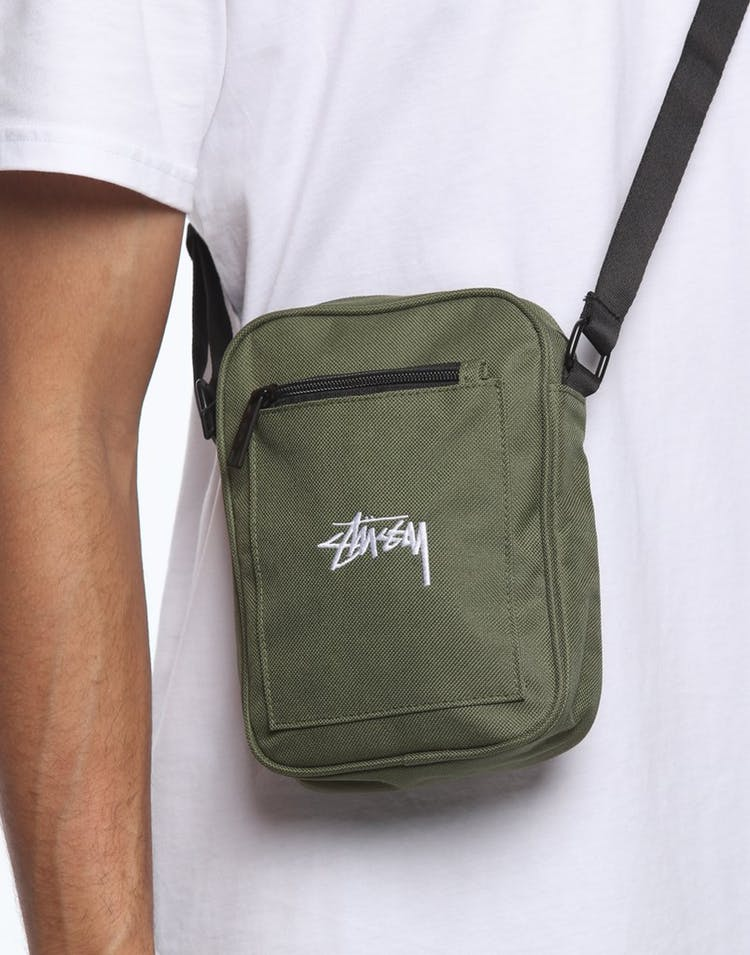 Flight Green Stock Messenger Bag