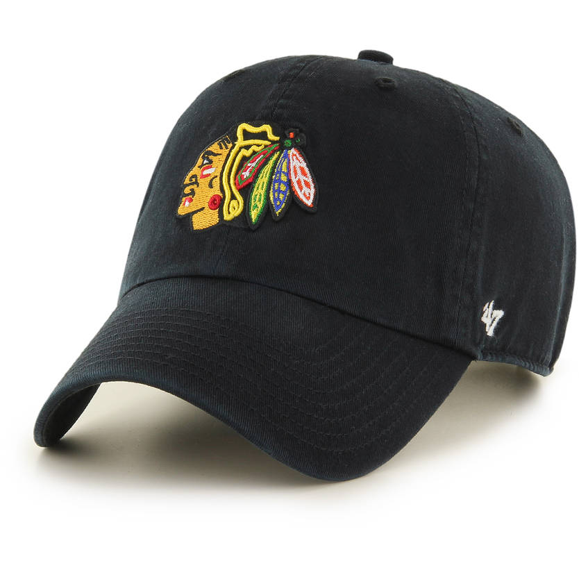 Blackhawks Black CLEAN UP
