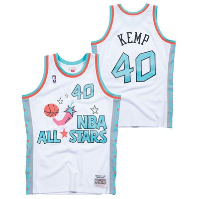 KEMP 40 All Star EAST Swingman Jersey White
