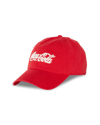 Coke Cola Ballpark Strapback