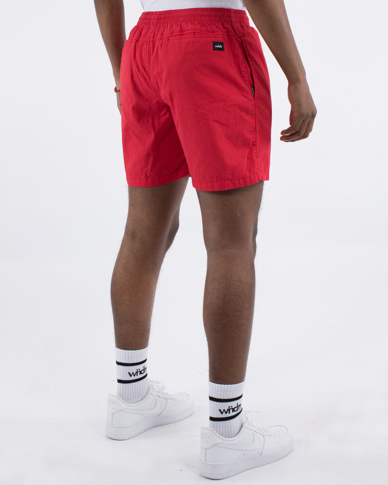 Leader Beach Short Red