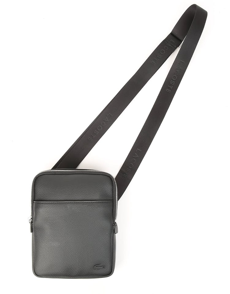 Gael S Flat Crossover Bag Black