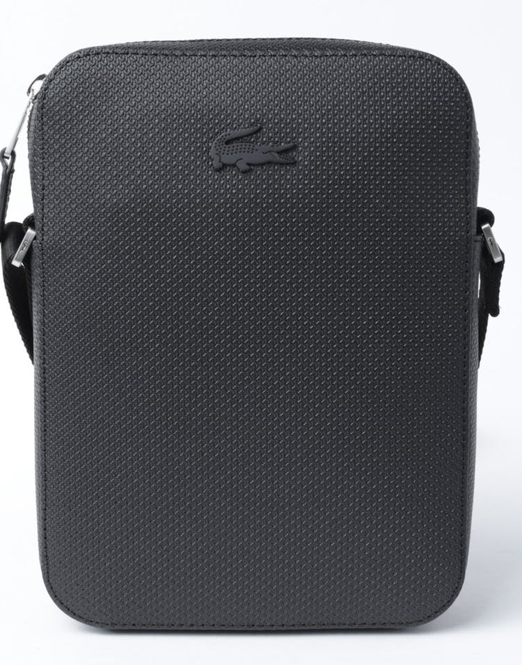CHANTACO VERTICAL SIDE BAG BLACK