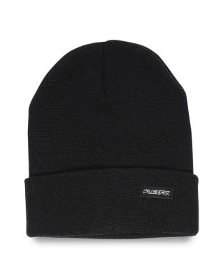 Folded Blank Flexfit Beanie Black OSFA