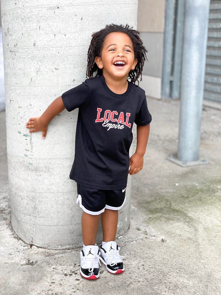 Infant College Logo Tee Black