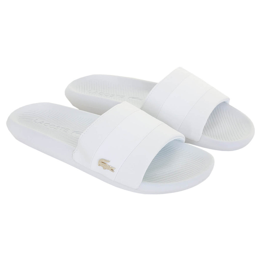Lacoste Mens 2020 Croco Slide 120 3 US CMA Comfort Stylish Slides