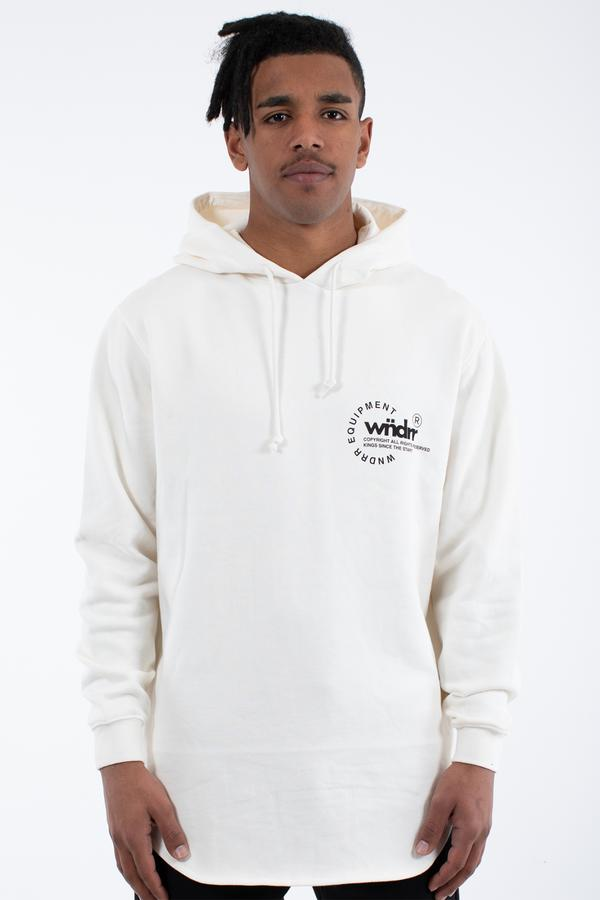 STAGE CURVED HOOD SWEAT OFF WHITE