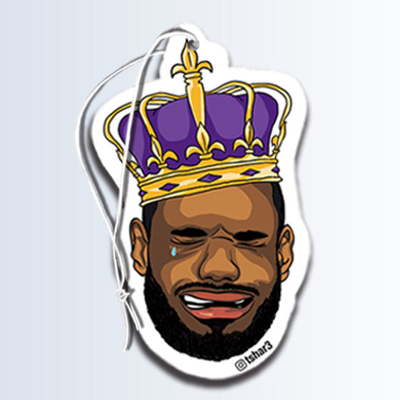 Crying King James Air freshener coconut