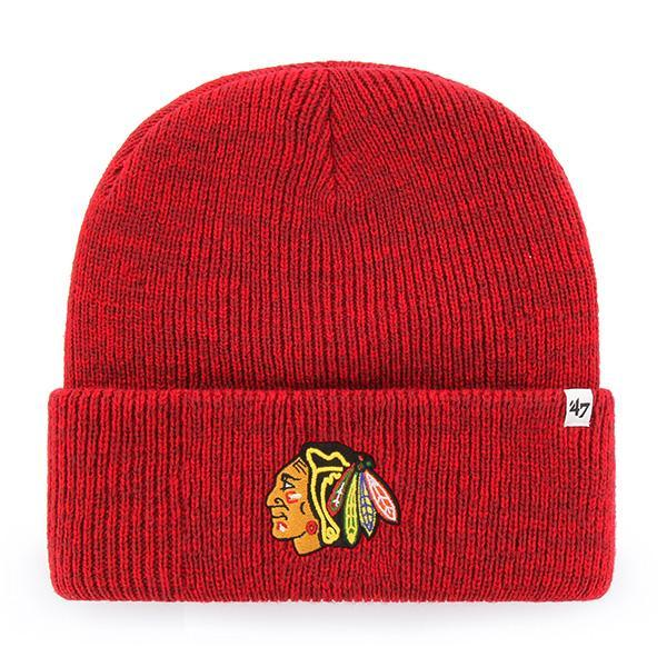 Chicago Blackhawks Red Raised 47 CUFF KNIT