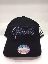 Mop Script Pinch Panel Snapback NF Giants Black