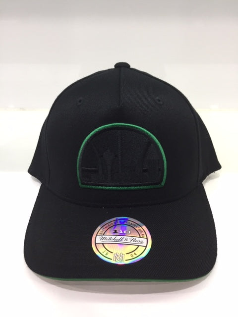 SUPERSONICS BLACK TEAM POP SNAPBACK