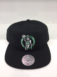 Celtics Team Logo Deadstock Throwback Flatbrim Black