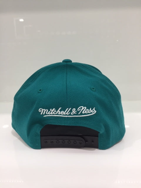 Teal High Crown 110 6 Panel Bulls