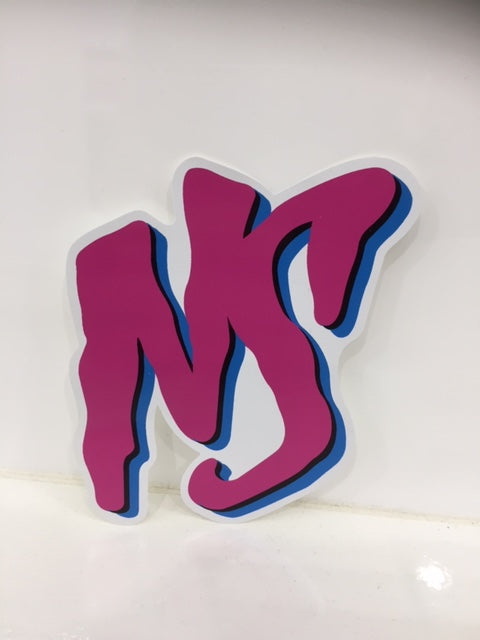NS Miami Pink Sticker