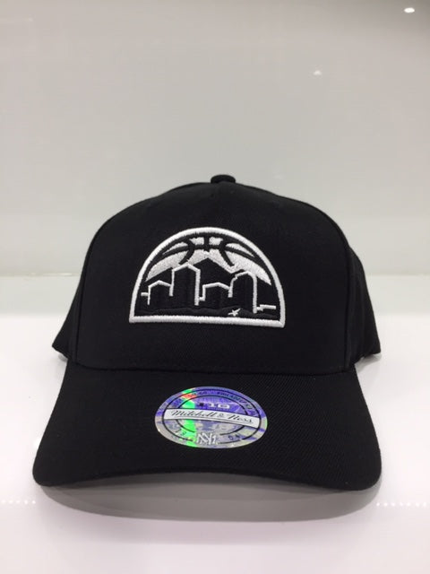 Denver Nuggets ALT Black/white Logo Flex110 Snapback