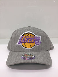 Lakers Team Heather 110 Snapback Grey