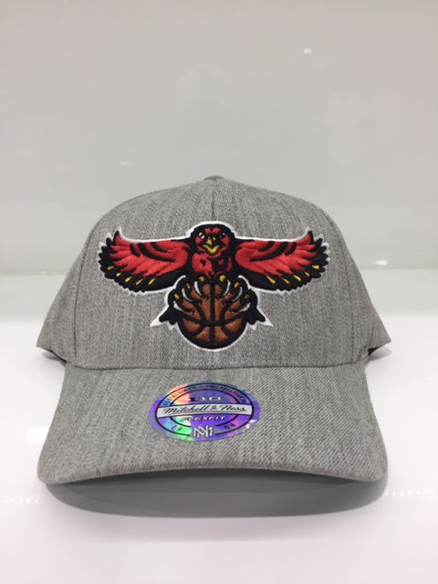 Atlanta Hawks Team Heather 110 Snapback Grey