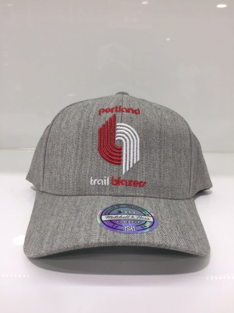 Trailblazers Team Heather 110 Snapback Grey