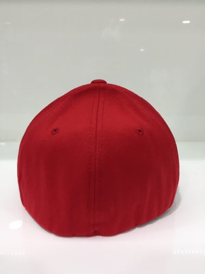 Deep Down FF Athletic Fit Hat Red / White
