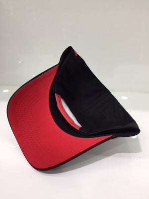 NS Black Red Outline Aframe Standard Fit Snapback