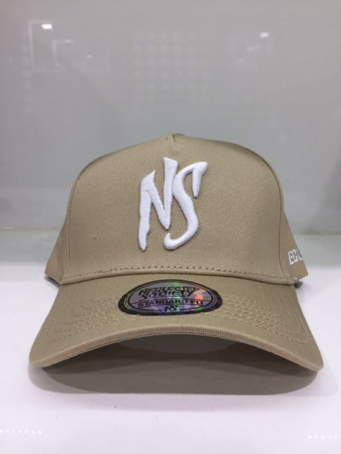 NS Tan White Aframe SF Snapback Standard Fit