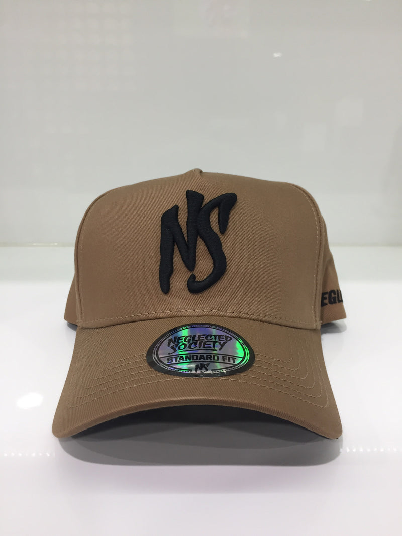 NS Aframe Toasted Brown Standard Fit Snapback