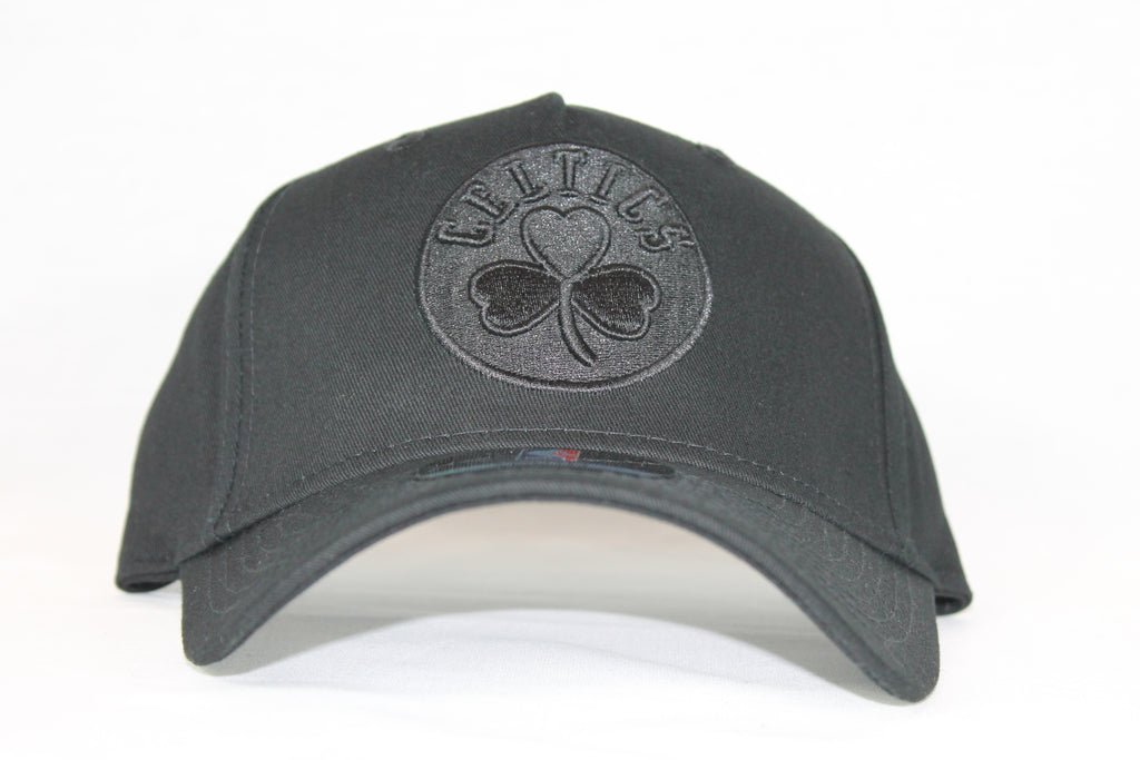 Toddler All black logo Celtics snapback