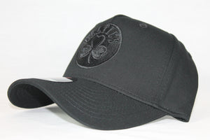 Youth All black logo Celtics snapback