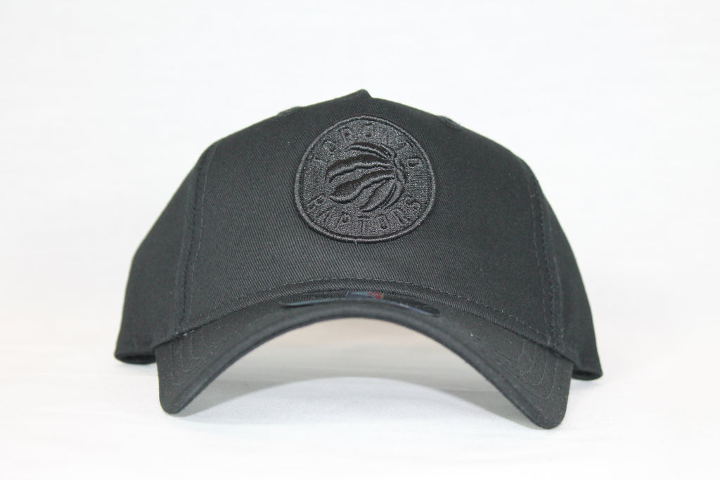 Toddler All black logo Raptors snapback
