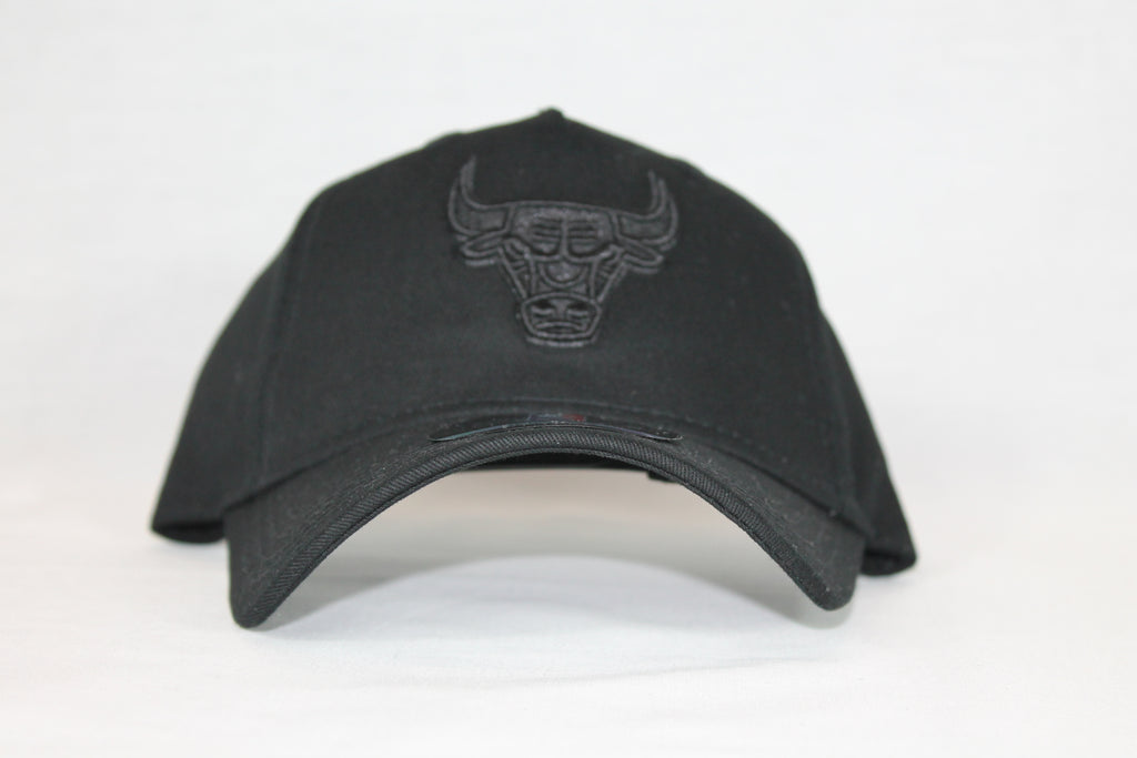 Toddler All black logo Bulls snapback