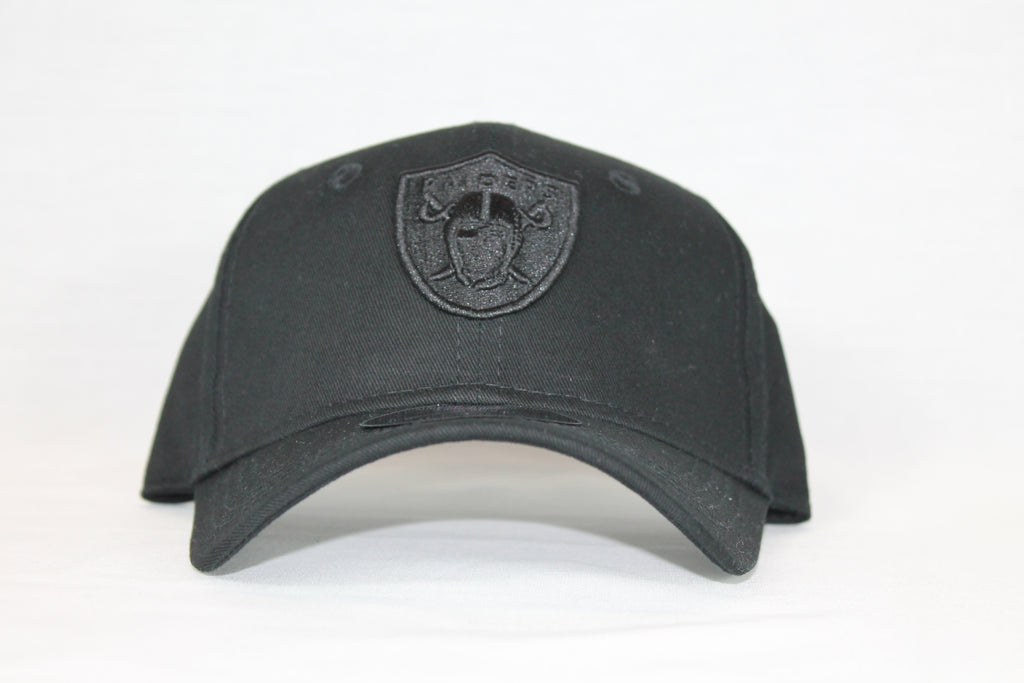 Toddler All black logo Raiders snapback