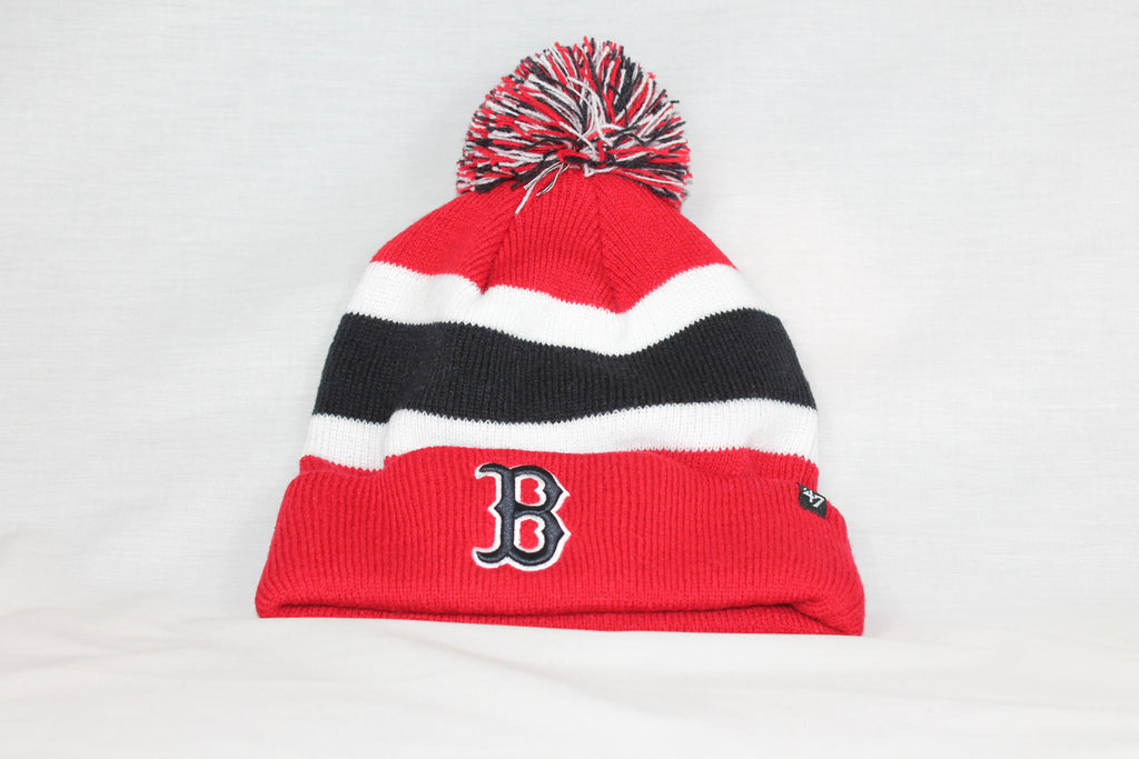 Boston Red Sox Red Breakaway 47 CUFF KNIT