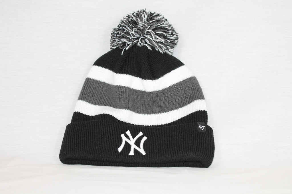 NY Yankees Black Breakaway 47 CUFF KNIT