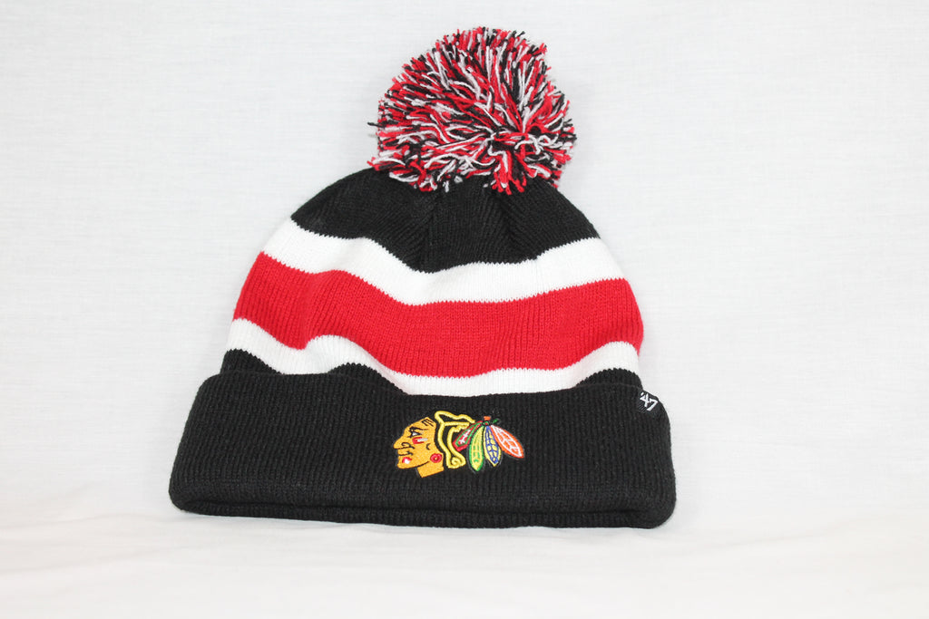 Chicago Blackhawks Black Breakaway 47 CUFF KNIT