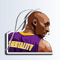 Mamba Mentality Air freshener Black Ice