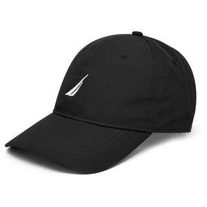 QUICKDRY 6 PANEL HAT TRUE BLACK