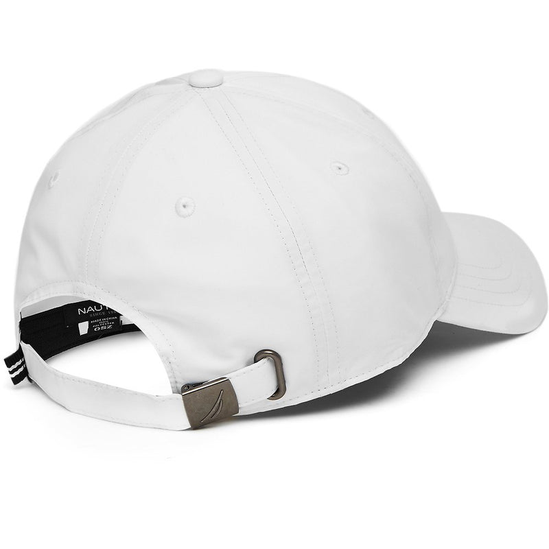 QUICKDRY 6 PANEL HAT BRIGHT WHITE