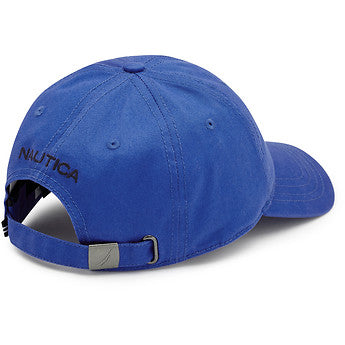 6 Panel Buckle Hat Classic Blue