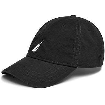 6 Panel buckle hat black