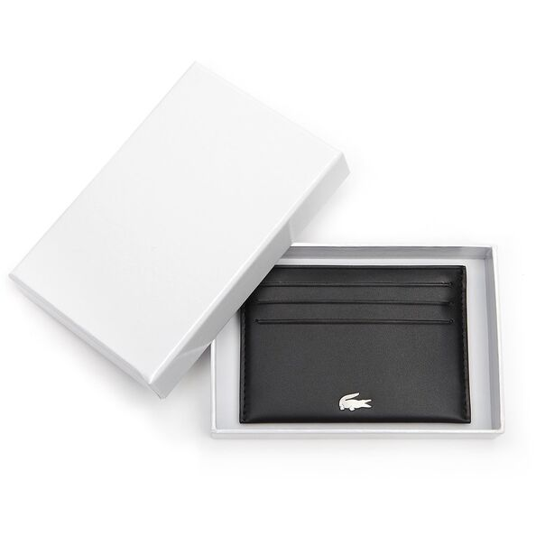 Lacoste FG Credit Card Holder Black