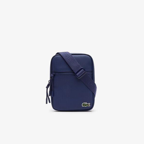 L1212 S FLAT CROSSOVER BAG ESTATE BLUE