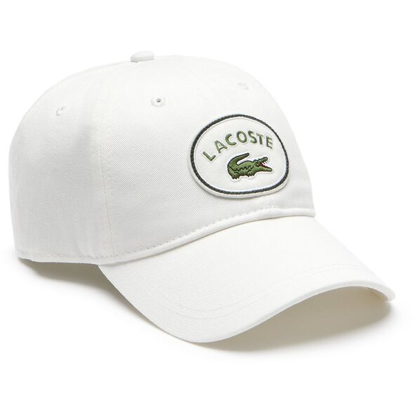 BADGE LOGO CAP WHITE